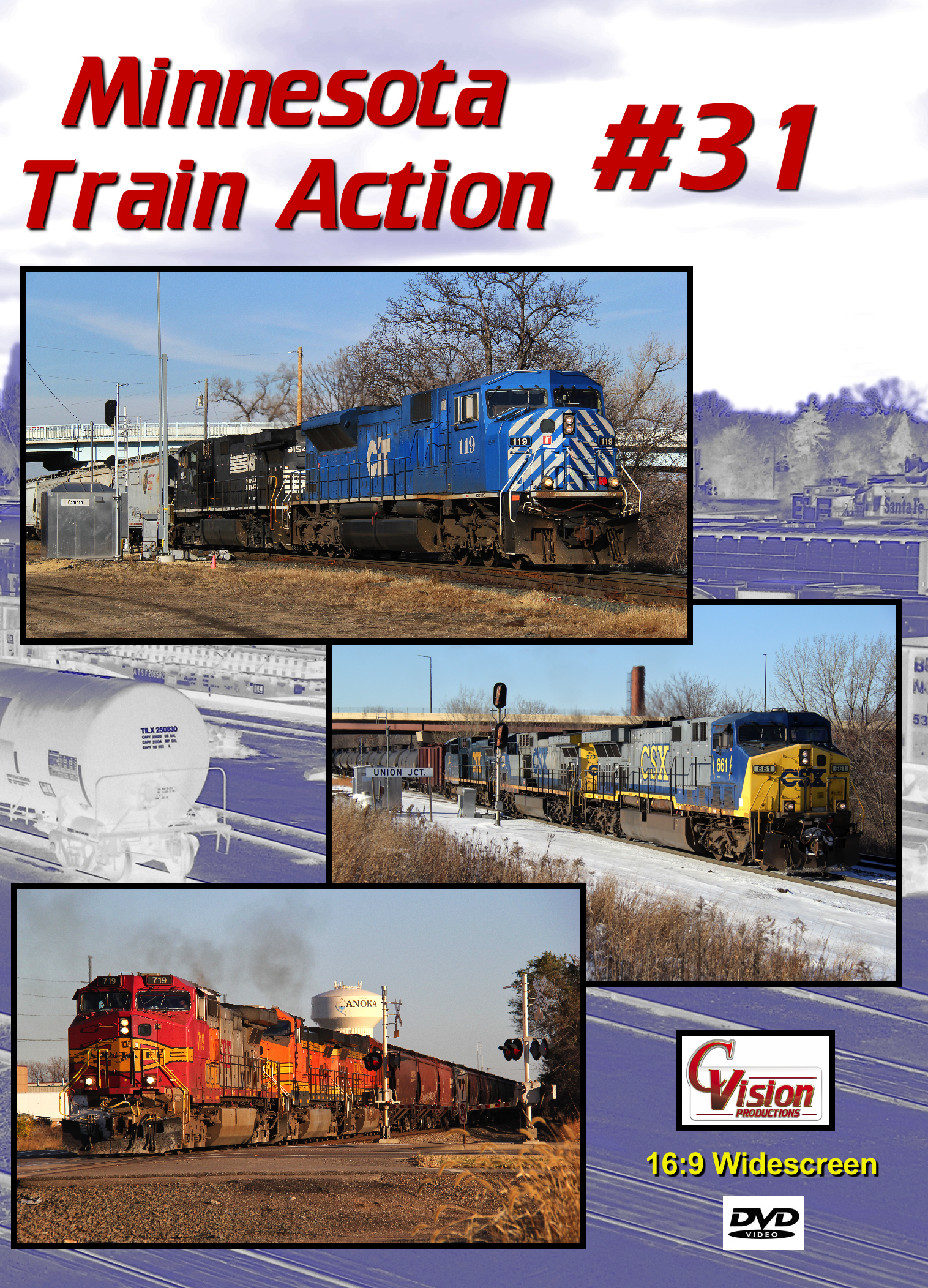 Minnesota Train Action Number 31 DVD C Vision Productions MTA31DVD