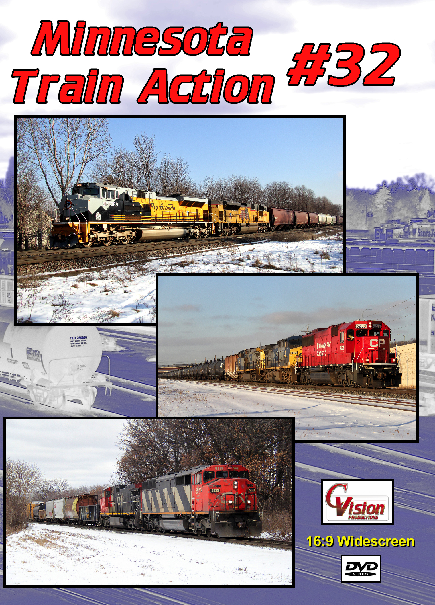 Minnesota Train Action Number 32 DVD C Vision Productions MTA32DVD