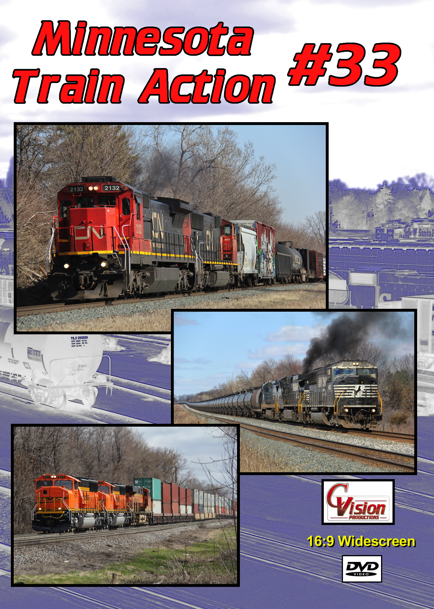 Minnesota Train Action Number 33 DVD C Vision Productions MTA33DVD
