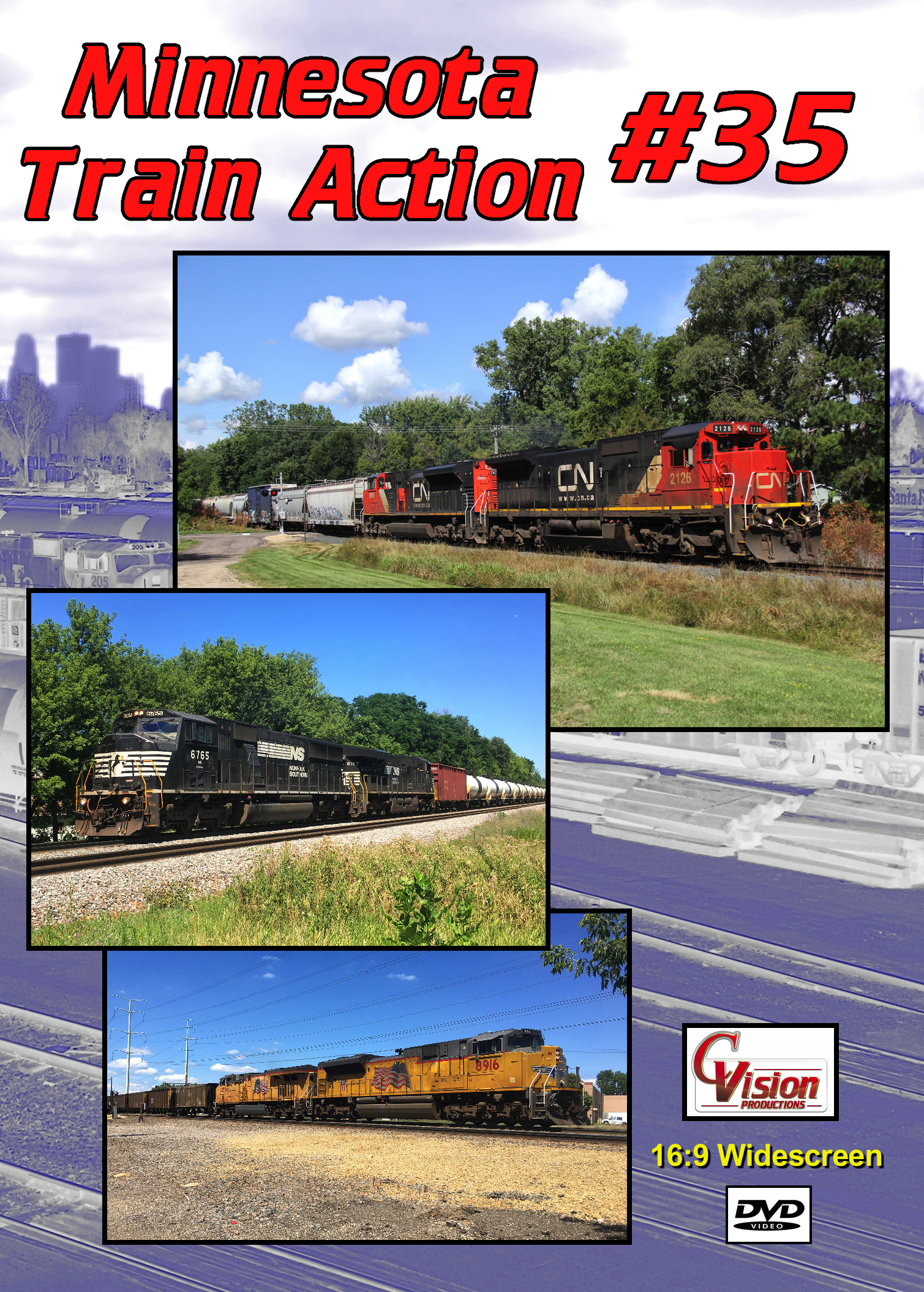 Minnesota Train Action Number 35 DVD C Vision Productions MTA35DVD