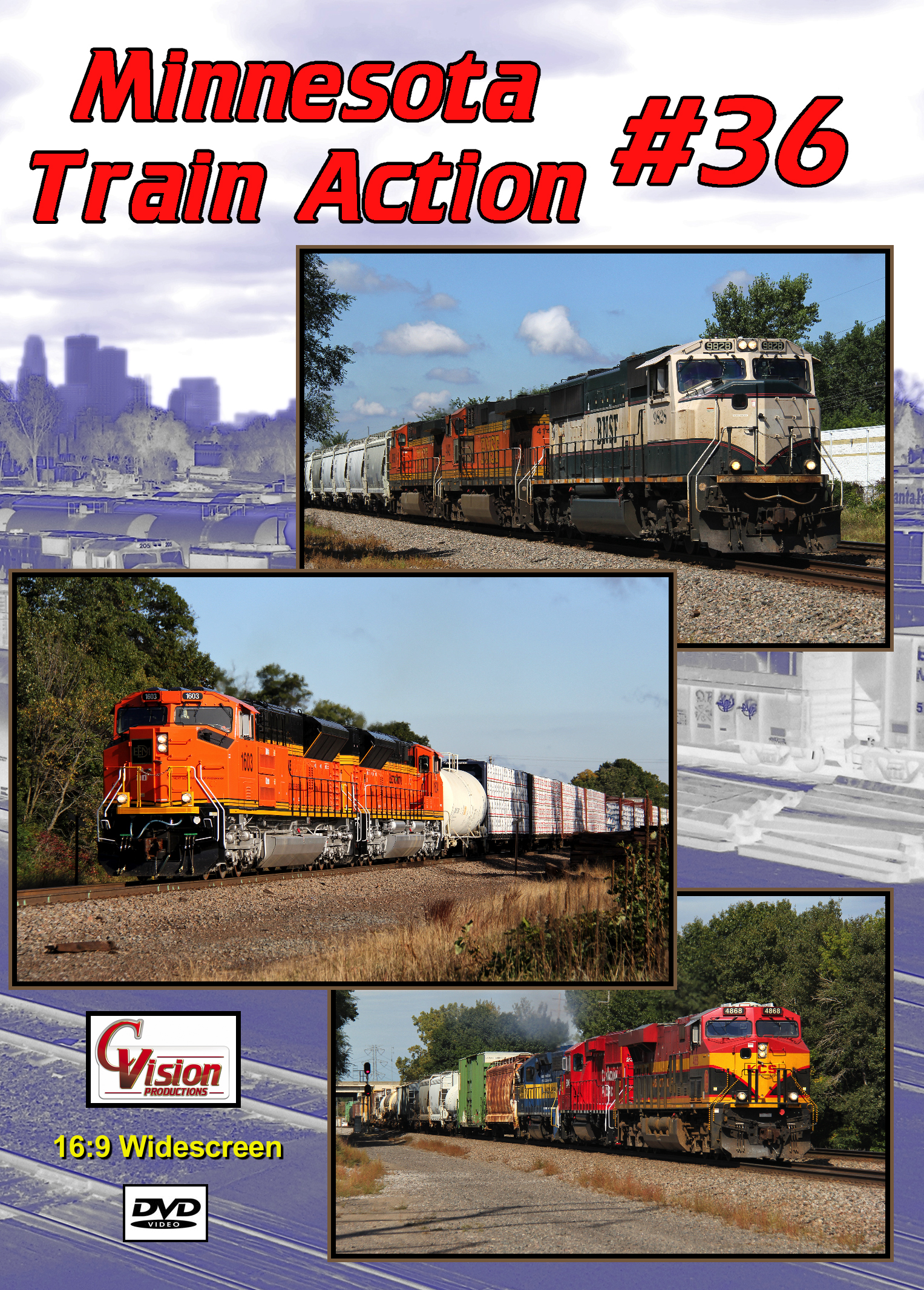 Minnesota Train Action Number 36 DVD C Vision Productions MTA36DVD