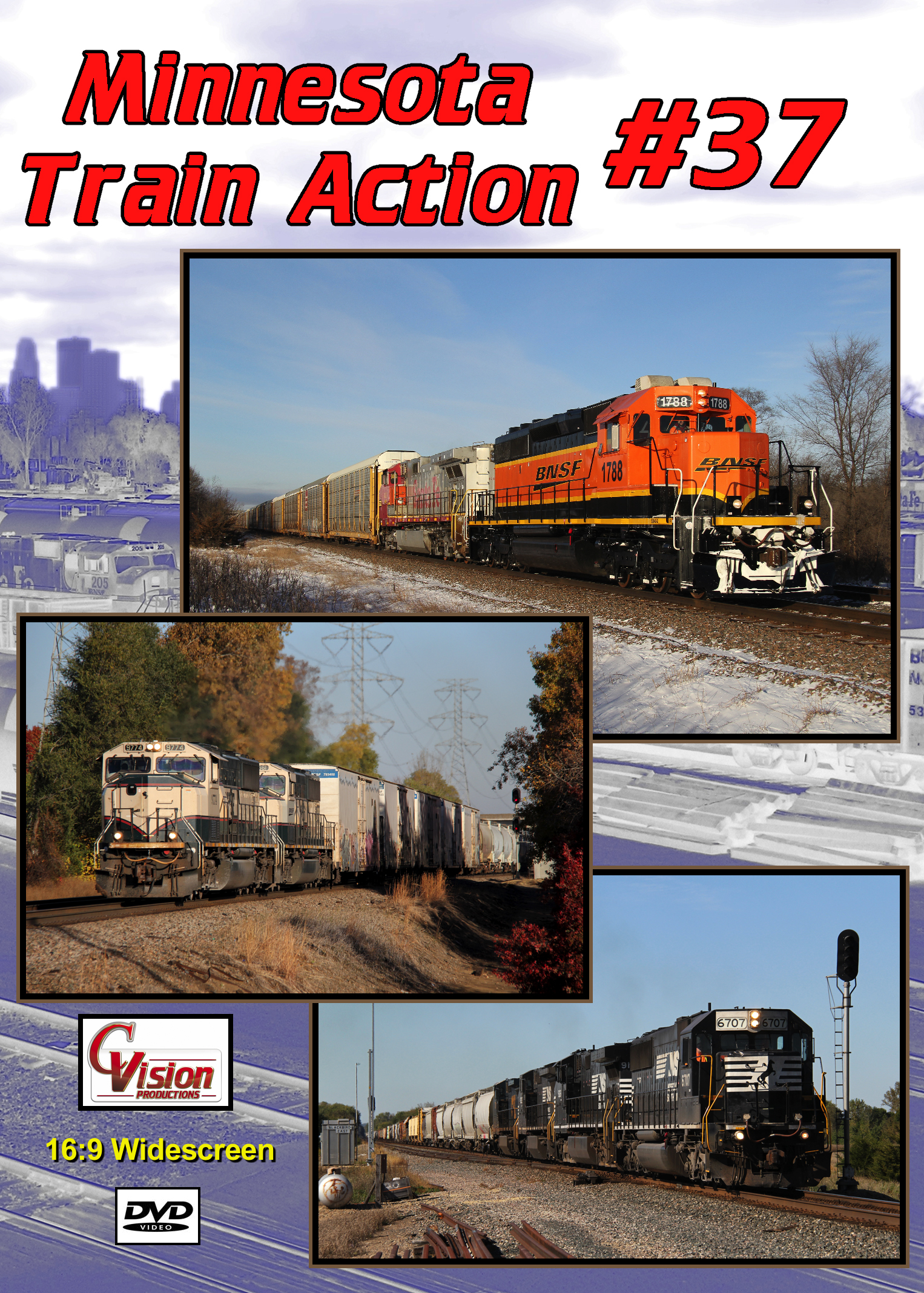 Minnesota Train Action Number 37 DVD C Vision Productions MTA37DVD