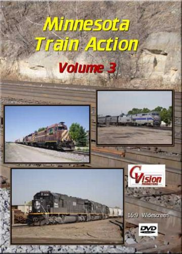 Minnesota Train Action 3 DVD C Vision Productions MTA3DVD