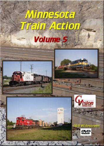 Minnesota Train Action 5 DVD C Vision Productions MTA5DVD