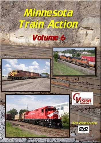 Minnesota Train Action Volume 6 DVD C Vision Productions MTA6DVD