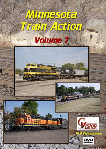 Minnesota Train Action Volume 7 DVD C Vision Productions MTA7DVD