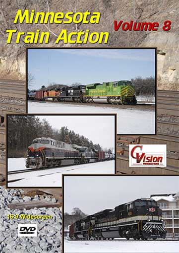 Minnesota Train Action Volume 8 DVD C Vision Productions MTA8DVD