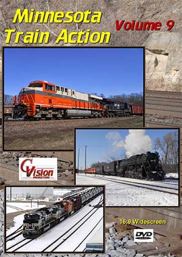 Minnesota Train Action Volume 9 DVD C Vision Productions MTA9DVD