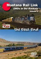 Montana Rail Link EMDs in the Rockies Volume 1 DVD