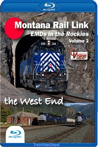 Montana Rail Link EMDs in the Rockies Volume 2 The West End BLU-RAY