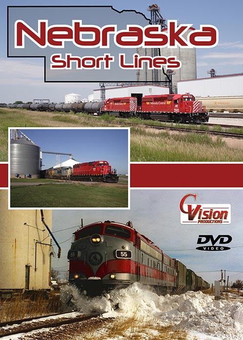Nebraska Short Lines DVD Train Video C Vision Productions NEBDVD