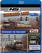 Norfolk Southerns Chicago Line Vol 1 Chicago to Elkhart BLU-RAY