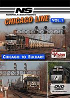 Norfolk Southerns Chicago Line Vol 1 Chicago to Elkhart DVD