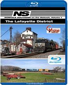 Norfolk Southern on the Wabash Volume 1 - The Lafayette District BLU-RAY