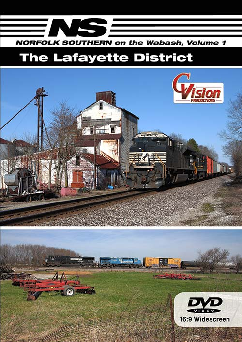 Norfolk Southern on the Wabash Volume 1 - The Lafayette District DVD C Vision Productions NSWLDVD