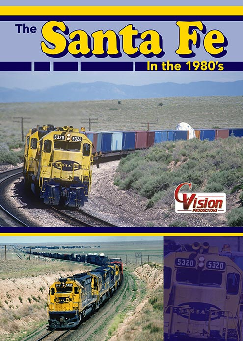 Santa Fe in the 1980s DVD C Vision Productions SFEDVD