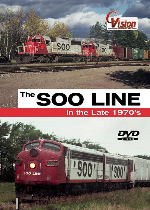 Soo Line in the Late 1970s DVD Train Video C Vision Productions SOO