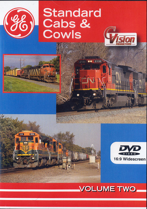 Standard Cabs & Cowls Volume 2 DVD Train Video C Vision Productions GE2