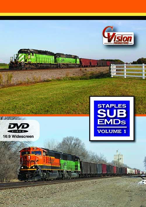 Staples Sub EMDs Volume 1 DVD C Vision Productions SEMD1D