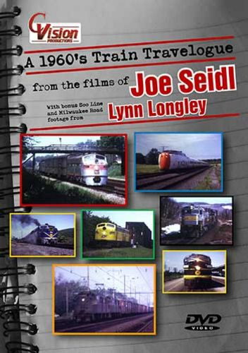 A 1960s Train Travelogue DVD C Vision Productions TL60