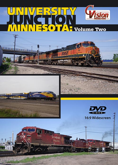 University Junction Minnesota Vol 2 BNSF CP DVD C Vision Productions UNV2