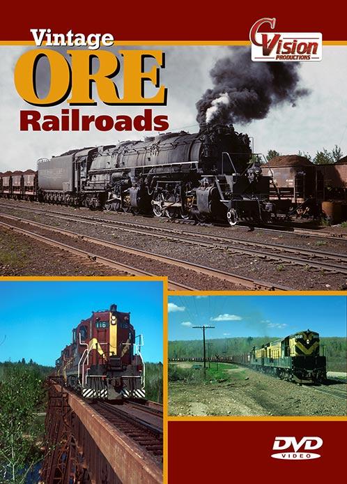 Vintage Ore Railroads DVD C Vision Productions VORDVD