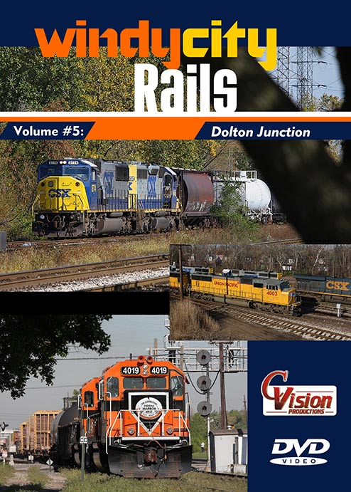 Windy City Rails Vol 5 Dolton Junction DVD Train Video C Vision Productions WC5DVD