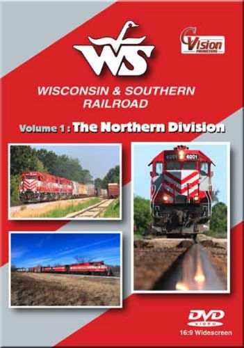 Wisconsin & Southern Railroad Volume 1 The Northern Division DVD C Vision Productions WSNDVD