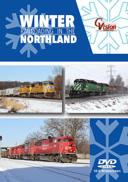 Winter Railroading in the Northland DVD C Vision Productions WRNDVD