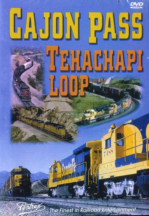 Cajon Pass Tehachapi Loop DVD Train Video Pentrex CAJON-DVD 748268004292