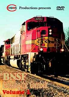 BNSF Crossing the Cornbelt Vol 2 C Vision Productions CB2DVD