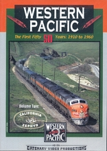 Western Pacific The First 50 Years Vol 2 DVD