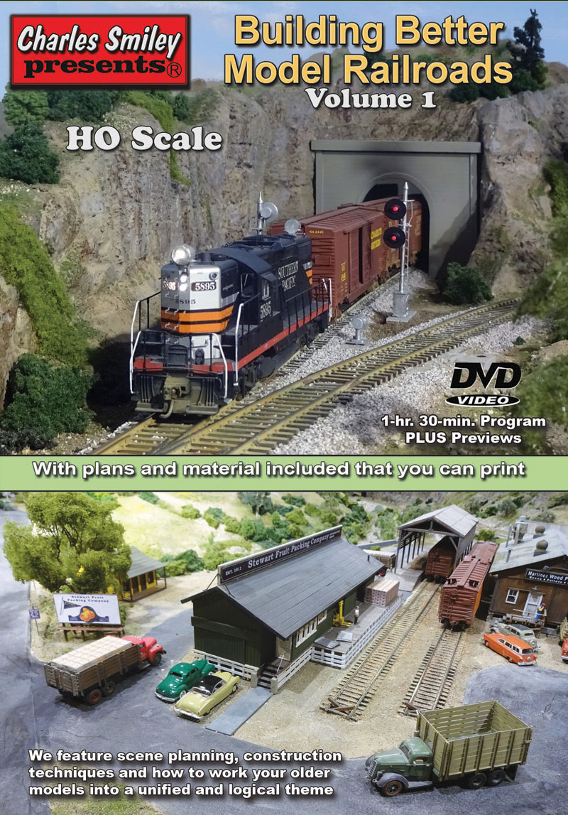 Building Better Model Railroads Volume 1 DVD Charles Smiley Presents M-153