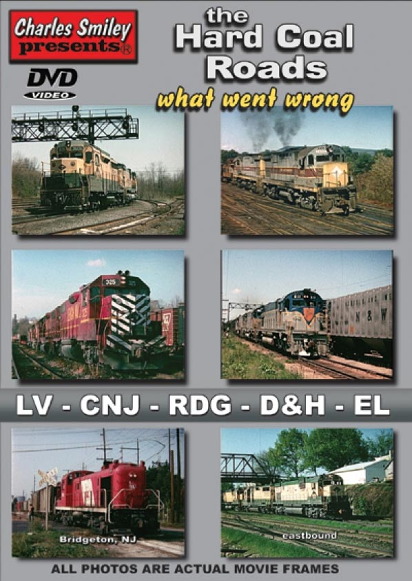 Hard Coal Roads: What Went Wrong DVD Train Video Charles Smiley Presents D-143