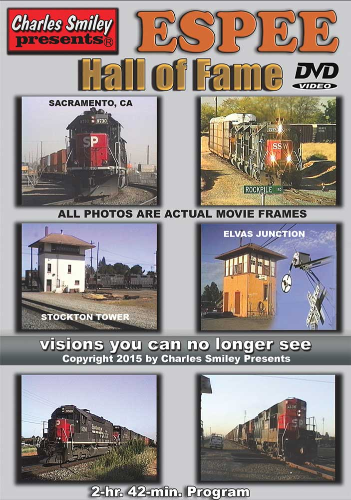 Espee Hall of Fame DVD Train Video Charles Smiley Presents D-145