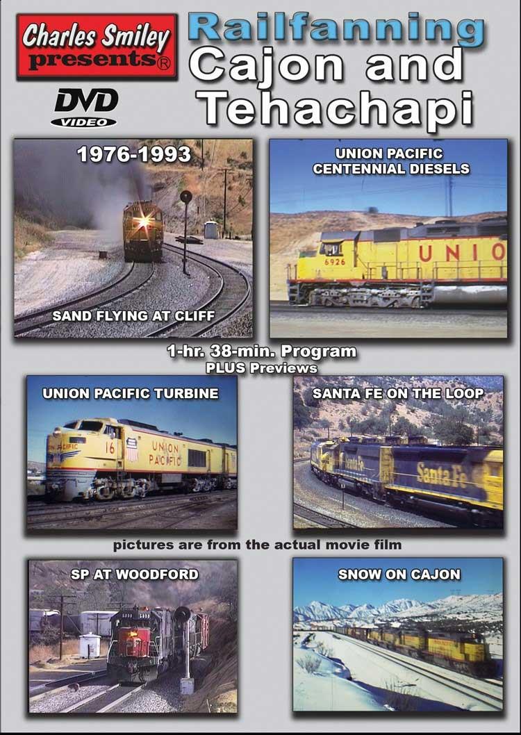 Railfanning Cajon and Tehachapi 1976-1993 DVD Charles Smiley Presents D-150