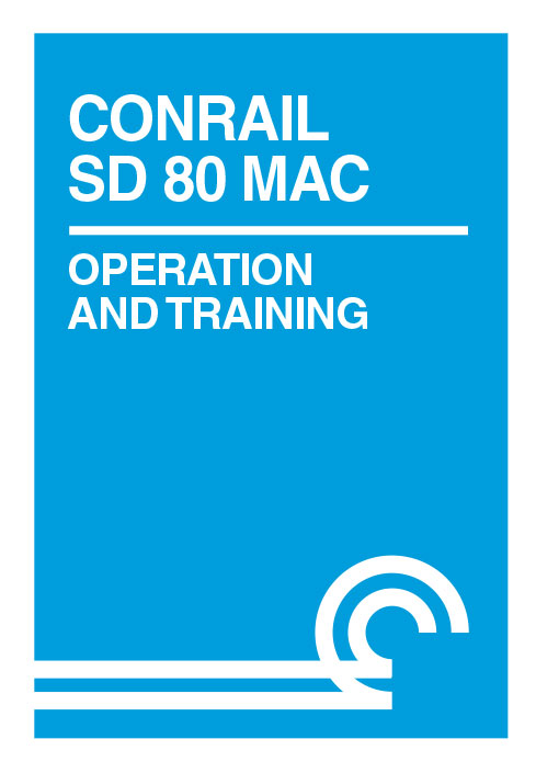 Conrail SD 80 MAC Operation and Training DVD Train Video Clear Block Productions CSD80
