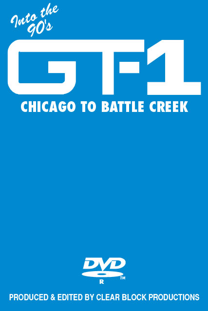 Into the 90s Grand Trunk Volume 1 Chicago to Battle Creek DVD Clear Block Productions GT-1