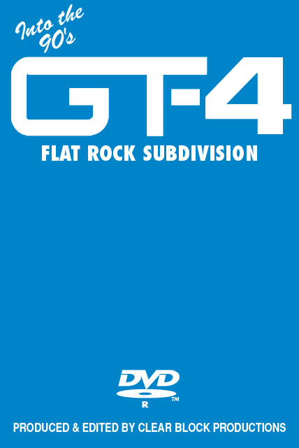 Into the 90s Grand Trunk Volume 4 Flat Rock Subdivision DVD Clear Block Productions GT-4