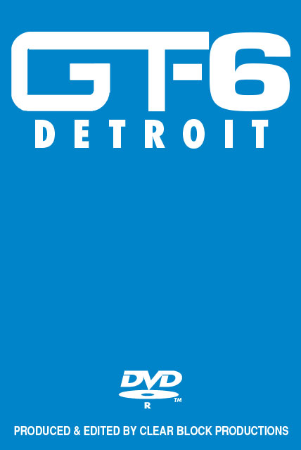 Into the 90s Grand Trunk Volume 6 Detroit DVD Train Video Clear Block Productions GT-6