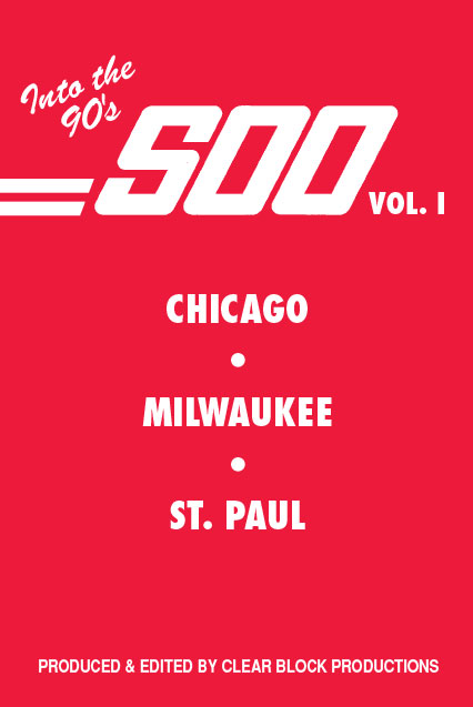 Into the 90s The Soo Line Volume 1 DVD Train Video Clear Block Productions SOO-1