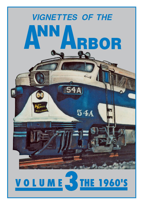 Vignettes of the Ann Arbor Volume 3 The 1960s Emery Gulash DVD Train Video Clear Block Productions VAA-3