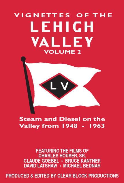 Vignettes of the Lehigh Valley Volume 2 DVD Clear Block Productions VLV-2