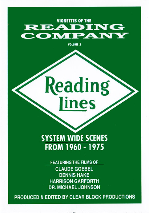 Vignettes of the Reading Company Volume 2 DVD Clear Block Productions VRC-2