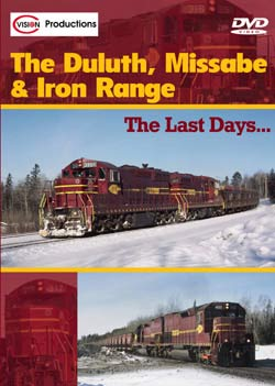 Duluth Missabe and Iron Range DVD C Vision Productions DMIRDVD