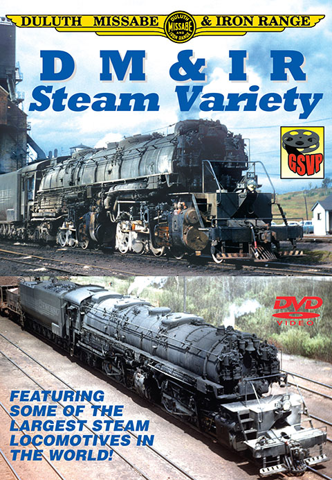 DM and IR Steam Variety Train Video Greg Scholl Video Productions DMSV 604435014290