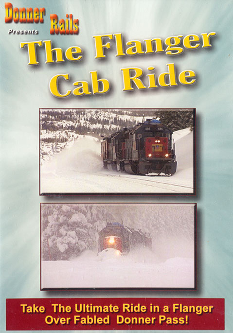 Flanger Cab Ride DVD Train Video BA Productions DR-FLANGER