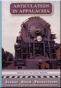 Articulateds in Appalachia Train Video Sunday River Productions DVD-AA