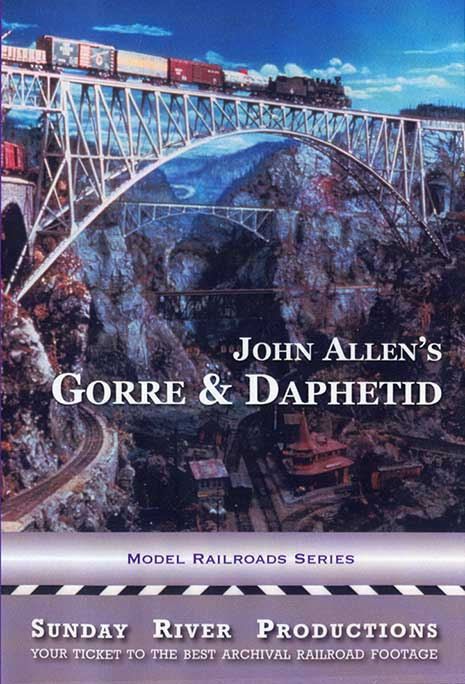 John Allens Gorre and Daphetid Train Video Sunday River Productions DVD-GD