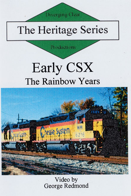 Early CSX The Rainbow Years Heritage Series DVD Diverging Clear Productions DC-CSX